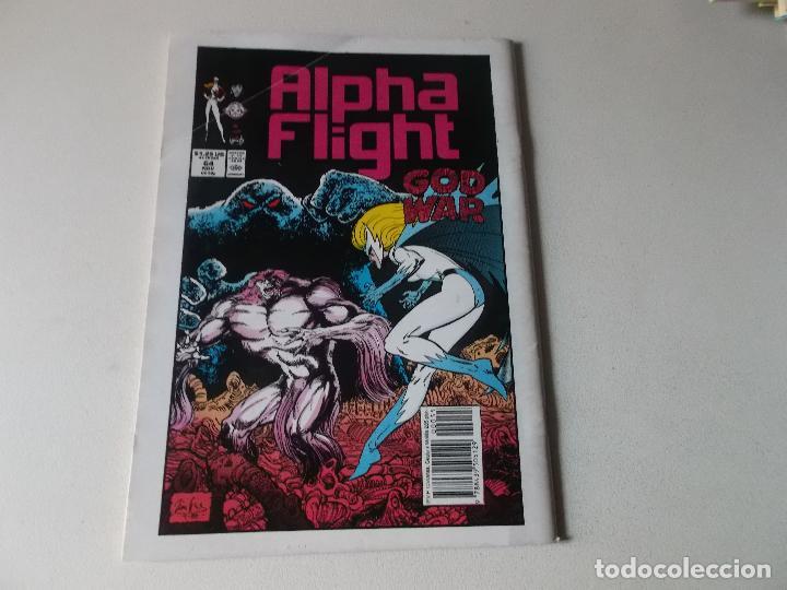 Cómics: ALPHA FLIGHT LA MASA NUMERO 55 - Foto 2 - 171506922