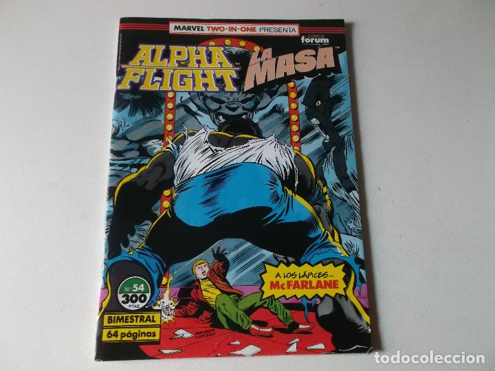 Cómics: ALPHA FLIGHT LA MASA NUMERO 54 - Foto 1 - 157854746