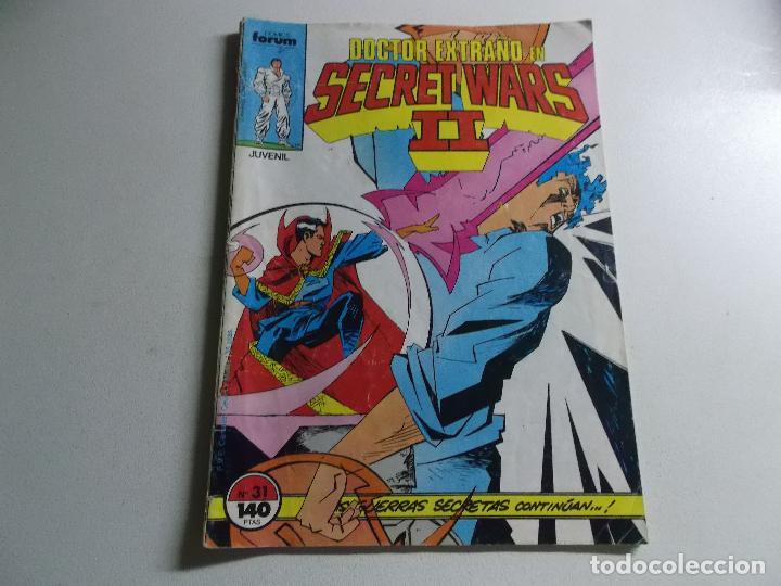DOCTOR EXTRAÑO EN SECRET WARS NUMERO 31 (Tebeos y Comics Pendientes de Clasificar)