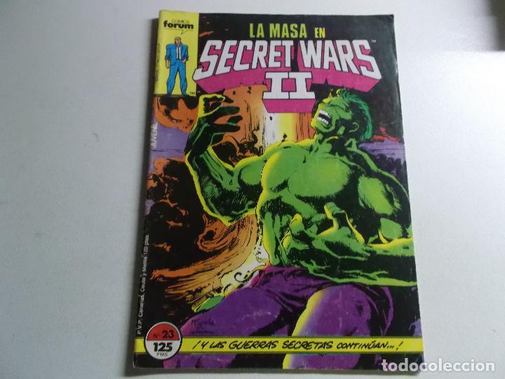 LA MASA EN SECRET WARS II - Nº 23 - FORUM. (Tebeos y Comics Pendientes de Clasificar)