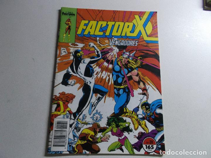 FACTOR X VOLUMEN 1 NÚMERO 31 CÓMICS FÓRUM MARVEL (Tebeos y Comics Pendientes de Clasificar)