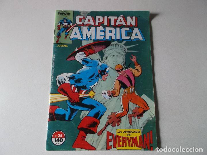 CAPITAN AMERICA NUMERO 25 FORUM (Tebeos y Comics Pendientes de Clasificar)