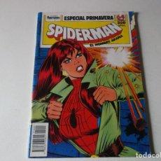 Cómics: SPIDERMAN-ESPECIAL PRIMAVERA-FORUM-AÑO 1987-COLOR-FORMATO GRAPA-EL JUEGO MAS DIVERTIDO. Lote 157913178