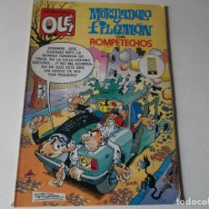 Cómics: MORTADELO Y FILEMON CON ROMPETECHOS -- COLECCION OLE 206-M.138 -- EDICIONES B -- 1989 -. Lote 157914062