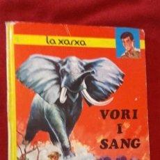 Cómics: VORI I SANG - LA XARXA - E. AIDANS & Y. DUVAL - ED. JAIMES LIBROS - EN CATALAN. Lote 157919806