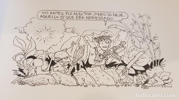 Cómics: AVENTURAS Y DESVENTURAS DE UNA PROFESIÓN CON ARTE / AUDIHISPANA GRANT THORNTON / NUEVO. - Foto 2 - 157950754