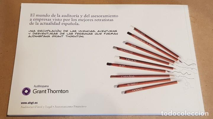 Cómics: AVENTURAS Y DESVENTURAS DE UNA PROFESIÓN CON ARTE / AUDIHISPANA GRANT THORNTON / NUEVO. - Foto 9 - 157950754