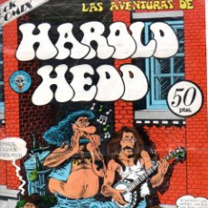 Cómics: LAS AVENTURAS DE HAROLD HEDD NÚMERO EXTRA (ROCK COMIX, 1977). Lote 157962238