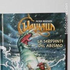 Cómics: VALHALLA LA SERPIENTE DEL ABISMO- EDICIONES FORTUNA-TAPA DURA. Lote 158349638