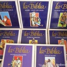 Cómics: DESCUBRIR LA BIBLIA. PLAZA & JANÉS, 8 TOMOS.. Lote 158510530