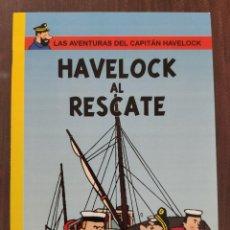 Cómics: LAS AVENTURAS DEL CAPITAN HAVELOCK: HAVELOCK AL RESCATE (1° EDICION) - TINTIN - NO OFICIAL (2010). Lote 158585150