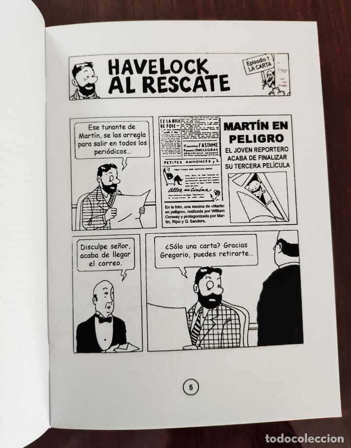 Cómics: LAS AVENTURAS DEL CAPITAN HAVELOCK: HAVELOCK AL RESCATE (1° EDICION) - TINTIN - NO OFICIAL (2010) - Foto 3 - 158585150