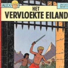 Cómics: ALIX, N 3. AÑO 1973, LA ISLA MALDITA, DE JACQUES MARTIN EDITORIAL CASTERMAN IDIOMA HOLANDES. Lote 158651566