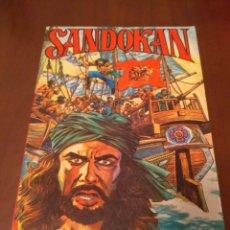 Cómics: CÓMIC SANDOKAN ,LOS DOS TIGRES AÑO 1976. Lote 158730492