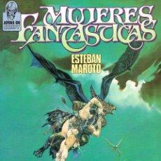 Cómics: JOYAS DE CREEPY.MUJERES FANTÁSTICAS.ESTEBAN MAROTO.TOUTAIN EDITOR. Lote 158736702