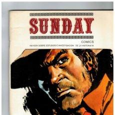 Cómics: SUNDAY Nº 6 M. AYUSO 1985. MUY BUENO.. Lote 268998449