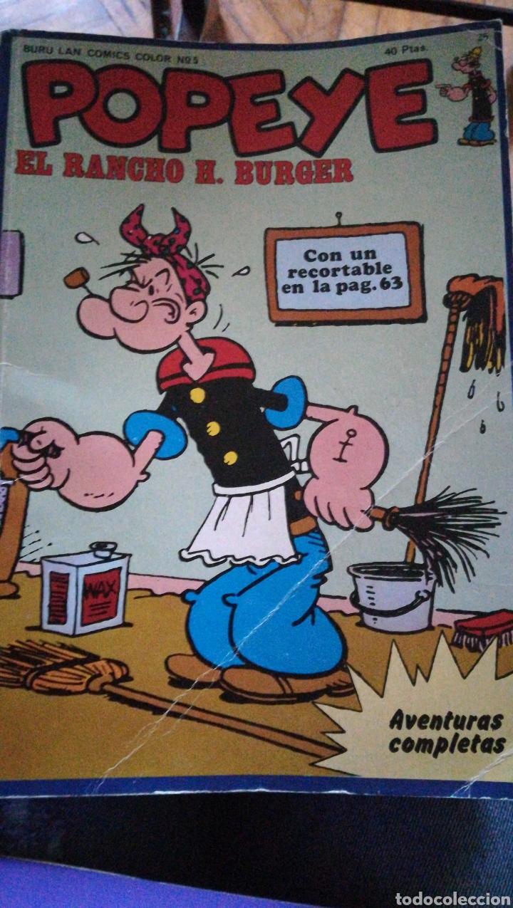 POPEYE EL RANCHO DE H. BURGER. 1973 (Tebeos y Comics Pendientes de Clasificar)