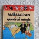 Cómics: EN MASSAGRAN I EL QUADRAT MAGIC - CATALA. Lote 158936354