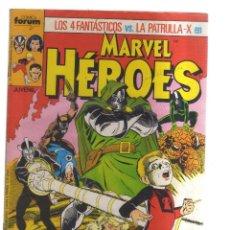 Cómics: HEROES MARVEL LOS 4 FANTASTICOS Y LA PATRULLA-X N,13. Lote 159052822