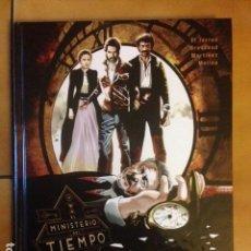 Cómics: EL MINISTERIO DEL TIEMPO : TIEMPO AL TIEMPO POR EL TORRES / BRESSEND / MARTINEZ / MOLINA / ALETA. Lote 159134790