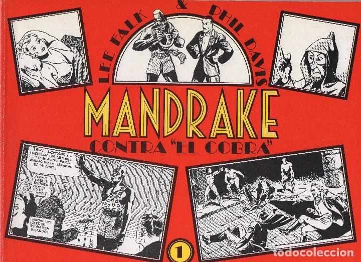MANDRAKE POR LEE FALK Y PHIL DAVIS 14 NÚMEROS PUBLICADOS POR JOAQUIN ESTEVE A PARTIR DE 1.980 (Tebeos y Comics - Comics Colecciones y Lotes Avanzados)