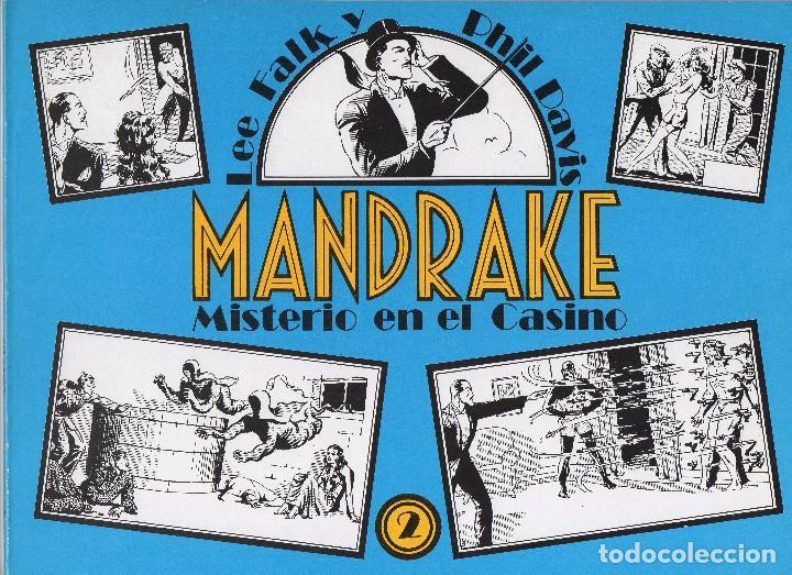 Cómics: MANDRAKE por Lee Falk y Phil Davis 14 números publicados por Joaquin Esteve a partir de 1.980 - Foto 2 - 159259890