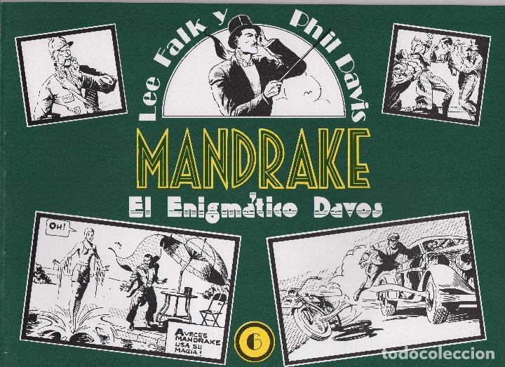 Cómics: MANDRAKE por Lee Falk y Phil Davis 14 números publicados por Joaquin Esteve a partir de 1.980 - Foto 6 - 159259890