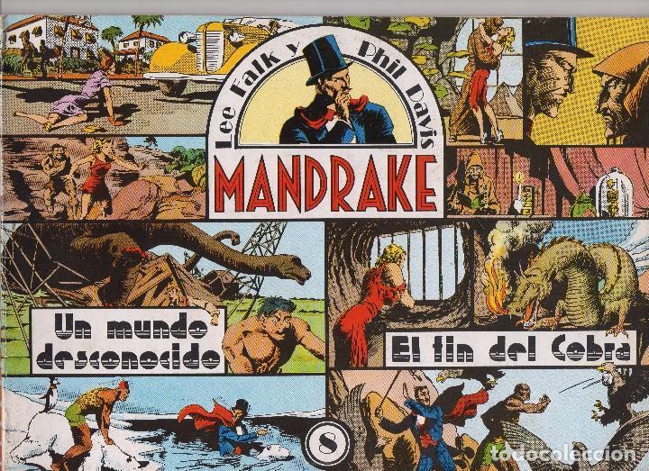 Cómics: MANDRAKE por Lee Falk y Phil Davis 14 números publicados por Joaquin Esteve a partir de 1.980 - Foto 8 - 159259890