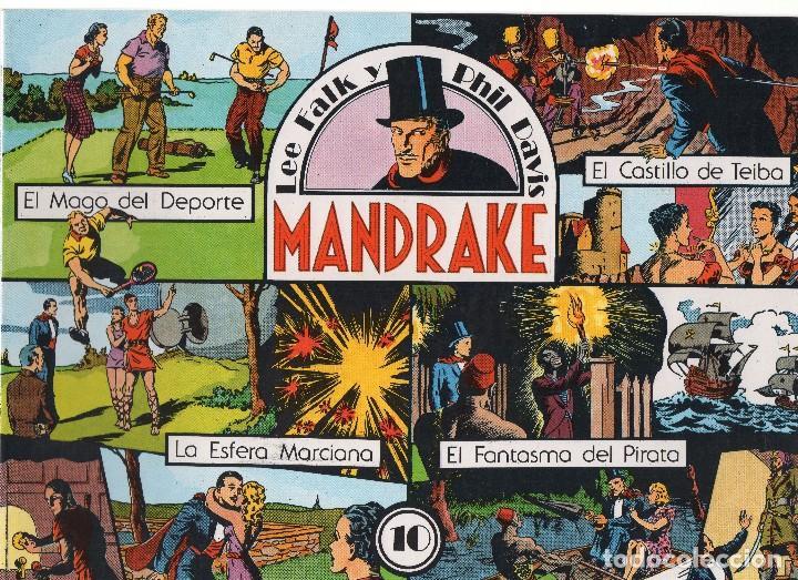 Cómics: MANDRAKE por Lee Falk y Phil Davis 14 números publicados por Joaquin Esteve a partir de 1.980 - Foto 10 - 159259890
