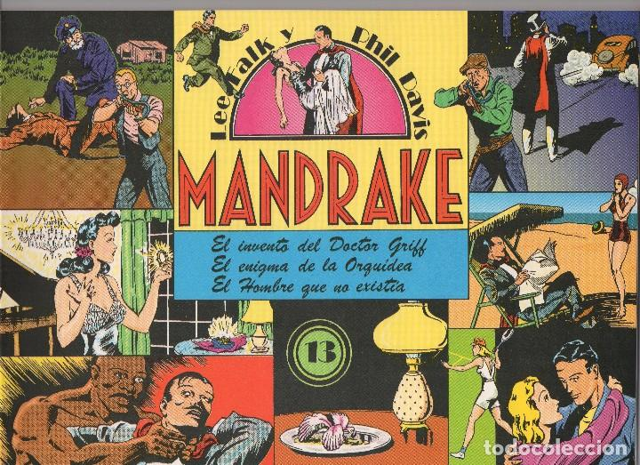 Cómics: MANDRAKE por Lee Falk y Phil Davis 14 números publicados por Joaquin Esteve a partir de 1.980 - Foto 12 - 159259890