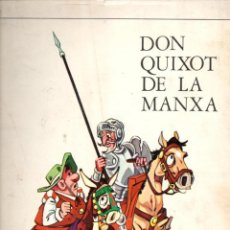 Cómics: DON QUIXOT DE LA MANXA VOL. 2 (MARKETING IBERICA, 1971) QUIJOTE EN CATALÁN. Lote 159401734