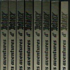 Cómics: GOSCINNY & UDERZO - LES AVENTURES D' ASTERIX - 8 VOLUMS EN CATALA TIPUS GUAFLEX, 32 TITOLS, ED. 1992. Lote 159415306
