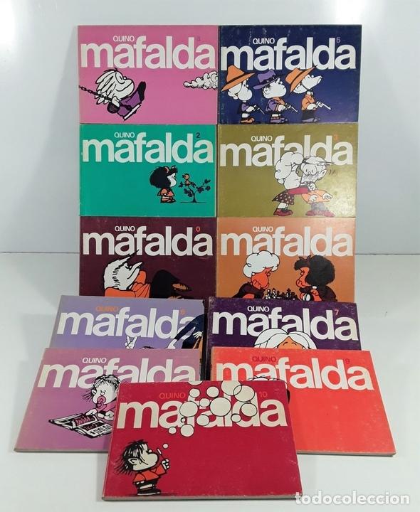 Cómics: MAFALDA. 11 EJEMP. QUINO. EDIT. LUMEN. BARCELONA. 1978/1981. - Foto 3 - 159467614