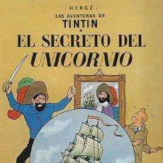 Cómics: LAS AVENTURAS DE TINTIN - EL SECRETO DEL UNICORNIO - JUVENTUD. Lote 159509082