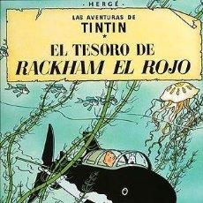 Cómics: LAS AVENTURAS DE TINTIN - EL TESORO DE RACKHAM EL ROJO - JUVENTUD. Lote 159509182