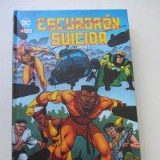Cómics: ESCUADRON SUICIDA INTEGRAL VOLUMEN 3 : VILLANOS POR JOHN OSTRANDER Y LUKE MCDONNELL - ECC TAPA DURA. Lote 159739498