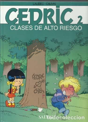 CEDRIC 2: CLSES DE ALTO RIESGO, 2002, SALVAT, IMPECABLE. COLECCIÓN A.T. (Tebeos y Comics - Comics otras Editoriales Actuales)