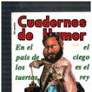 Cómics: CUADERNOS DE HUMOR 14 -ÚLTIMO DE LA COLECCIÓN- 1991. EXCELENTE.. Lote 160196002