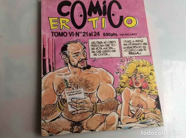 COMIC EROTICO , TOMO RECOPILATORIO CON LOS Nº 21, 22, 23, 24 - EDITA: EDITORIAL IRU (Tebeos y Comics - Comics otras Editoriales Actuales)