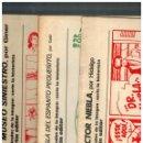 Cómics: BANG! FASCÍCULOS DE LA IMAGEN / SERIE LA HISTORIETA NºS.1,2 Y 3.COMPLETA. ANTONIO MARTÍN,1973. . Lote 160308066