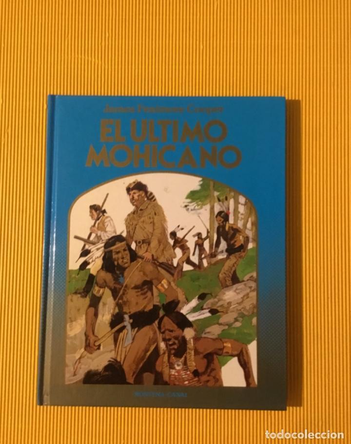 EL ÚLTIMO MOHICANO EDICIONES MONTENA TAPA DURA 1981 (Tebeos y Comics - Comics otras Editoriales Actuales)