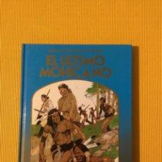 Cómics: EL ÚLTIMO MOHICANO EDICIONES MONTENA TAPA DURA 1981. Lote 160350182