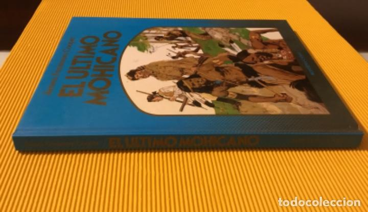 Cómics: El último mohicano Ediciones Montena tapa dura 1981 - Foto 5 - 160350182