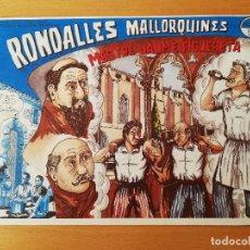 Cómics: MESTRE JAUME FIGUERETA (RONDALLES MALLORQUINES D'EN JORDI DES RACÓ). Lote 160357438
