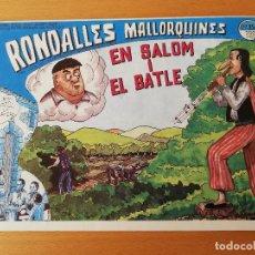 Cómics: EN SALOM I EL BATLE (RONDALLES MALLORQUINES D'EN JORDI DES RACÓ). Lote 160357598