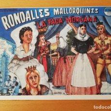 Cómics: LA FADA MORGANA (RONDALLES MALLORQUINES D'EN JORDI DES RACÓ). Lote 160357682