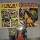 Cómics: COMICS DOSSIER NEGRO, GUERRA Y SIR DIABLO. Lote 160664881