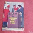 Cómics: AVENTURAS DE GABY, FOFO Y MILIKI CON FOFITO. FHER 1974. Nº 6 MAQUINAS PARA VIVIR Y REIR. Lote 160685566