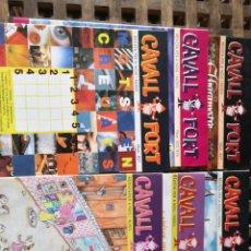 Cómics: LOTE DE 6 COMICS DE CAVALL FORT. Lote 160708584