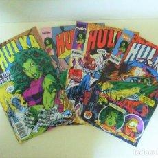 Comics : LOTE 4 CÓMICS HULKA - FORUM MARVEL - Nª 10 13 16 Y 18 - CÓMIC AÑO 1990 - 1991. Lote 160726586